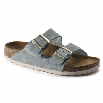 Birkenstock 'ARIZONA' BLUE Suede Leather